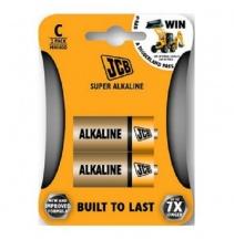 Alkalická baterie JBC R14/C, blistr 2ks