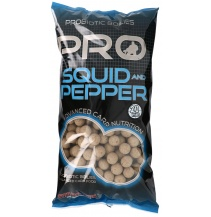 Boilies STARBAITS Probiotic Squid & Pepper 2,5kg