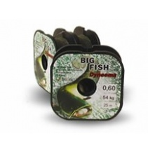BIG FISH – návazce 25 m - 0,60 mm