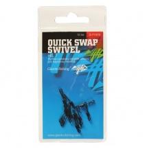Giants fishing Rychlovýměnný obratlík Quick Swap Swivel, UK.7 (vel.12 EU )/10ks