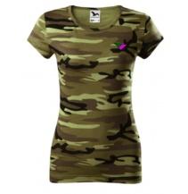 PR Style triko camo dámské