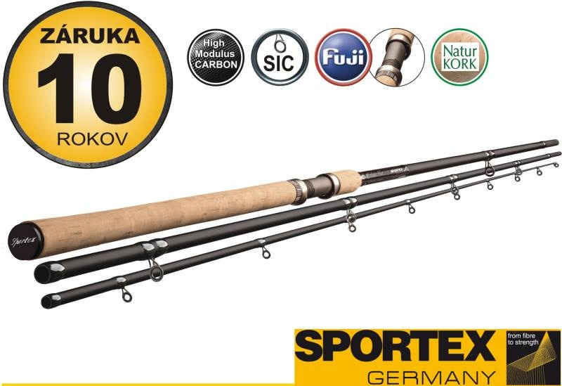Rybářský prut SPORTEX - EXCLUSIVE FLOAT třídílný