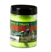 Těsto na pstruhy MAGIC BAIT žluto-zelená 50g