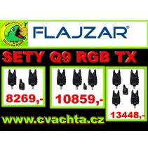 Flajzar sada Q9 TX RGB