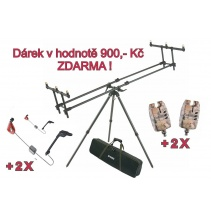 AKCE - Tripod Premium + ZDARMA 2 x Sounder Easy a 2 x SWINGARM No.130