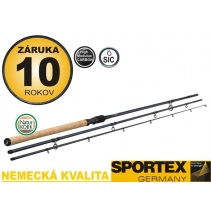 Match prut Sportex EXCLUSIVE FLOAT LIGHT NT 3-díl