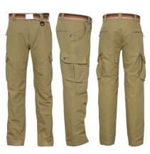 COMBAA sportovní kalhoty GEOFF Anderson khaki