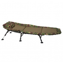 Giants fishing Lehátko Bedchair Fleece Camo 6Leg