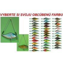 Rybářský věšák ve tvaru woblera