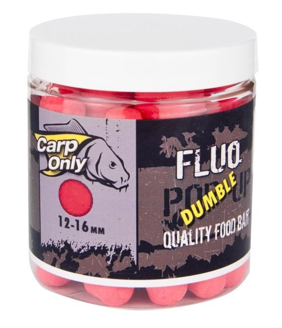 Plovoucí boilies dumbelky CARP ONLY Red 80g