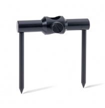 Anaconda kotva vidličky zapichovací BLAXX 16 mm, matná černá