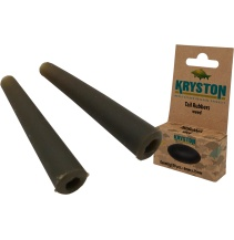 Kryston bižuterie - Čepička na závěsku zelená 10ks