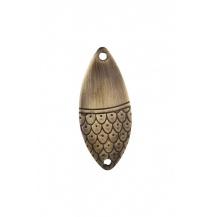 Třpytka - ROACH vel. 2 / 10 g / 5.1 cm - OLD BRASS