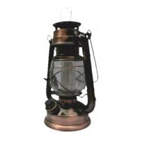 Lampa 16 LED, 2xD, mědená