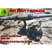 SET OKUMA CBBF-355 +PROLOGIC RAW 3m 2,75lbs