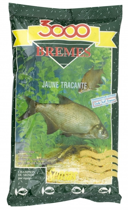 Krmení 3000 Bremes Jaune Tracante (žlutý cejn) 1Kg