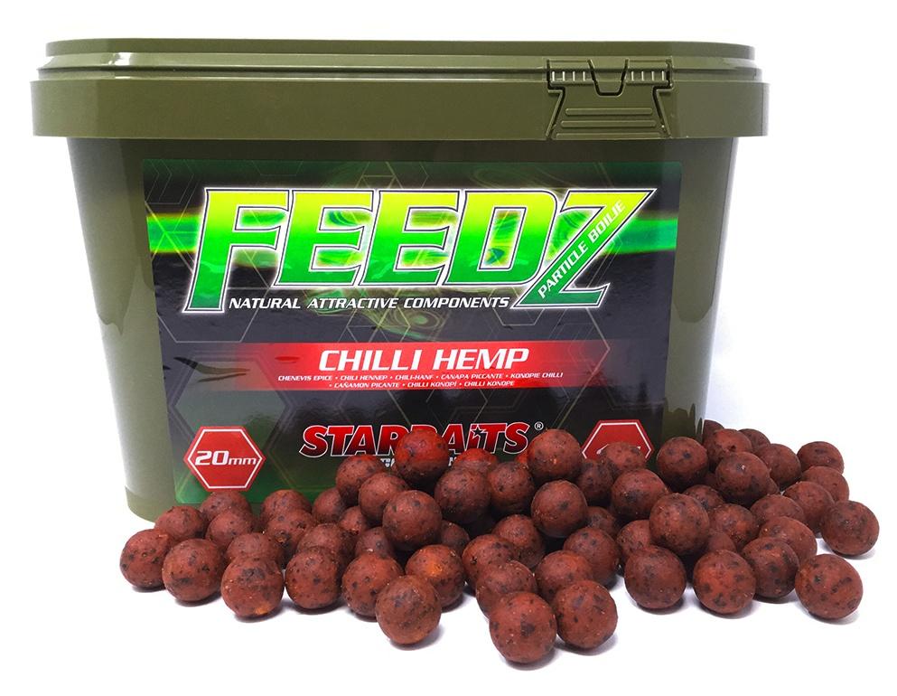 FEEDZ Boilies CHILI HEMP 20mm 4kg