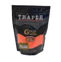 traper anglická vločka oranžová 400g