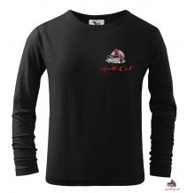 Hell-Cat tričko Classic černé s dlouhým rukávem, vel.L