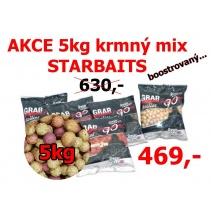 AKCE 5kg boilies MIX boostrovaný