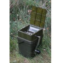RidgeMonkey Drtička Advanced Boilie Crusher - set ABC + kýbl 17l