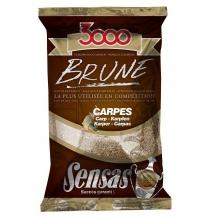Krmení 3000 Brune Carp (kapr-hnědá) 1kg