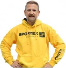 Sportex Mikina s kapucí - žlutá