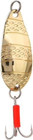 Třpytka - STRIPE vel. 1 / 8 g - GOLD