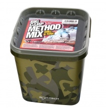Bait-Tech Camo Bucket Big Carp Method Mix: Krill & Tuna 3kg