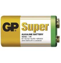 Baterie GP SUPER - Alkalická 9V - 1ks