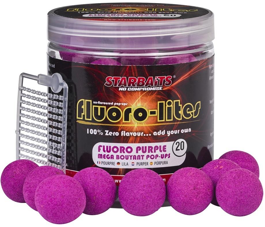 POP UP FLUORO LITE 20mm 80g fialová