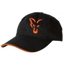 Fox Black & Orange Baseball Cap