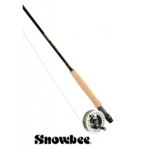 Prut Snowbee Classic Fly 9,6ft, 6/7, 4-díl