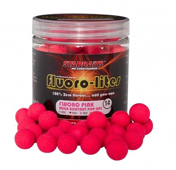 POP UP FLUORO LITE 14mm 80g růžová