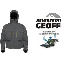 Bunda Geoff Anderson - Brodící WS 5 šedá
