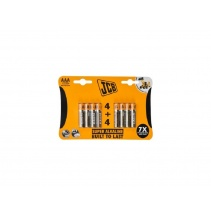 Alkalická baterie JCB LR03 / AAA, blistr 8 ks