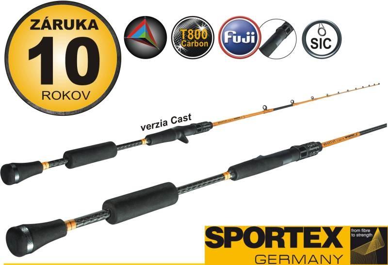 Rybářský prut - Sportex - ABSOLUT jigging Sea rods