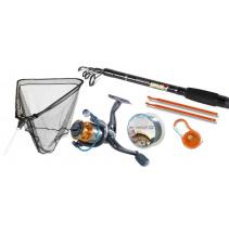 Dětský rybářský set SPORTS + povinná výbava
