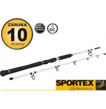 Rybářský prut-SPORTEX - Turbo Cat Spin - dvoudílný
