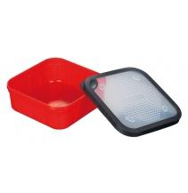 BOX - Miska na živou nástrahu 1.5L G017 (17 x 17 x 6.7 cm)