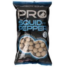 Boilies STARBAITS Probiotic Squid & Pepper 1kg