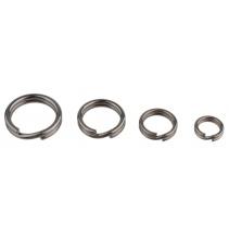 Spojovací kroužky (mořské) BN (černý nikl) - vel. 8 - 5 ks nosnost  20kg