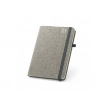 Plátěný diář A5 šedý