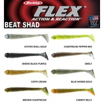 Riper Berkley Flex Beat Shad 10cm