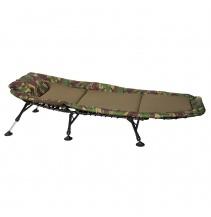 Lehátko Bedchair Fleece Camo 6Leg