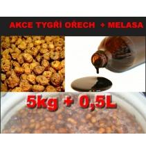 AKCE čvachta TYGŘÍ OŘECH 5kg + 0,5l melasy