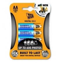 JCB OXI DIGITAL baterie LR06/AA, blistr 4 ks