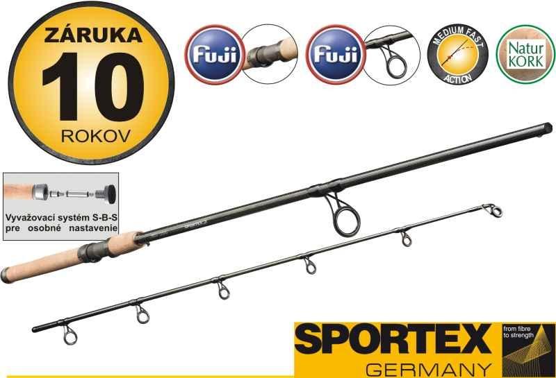 Rybářský prut Sportex - KEV SEA SPIN - dvoudílný