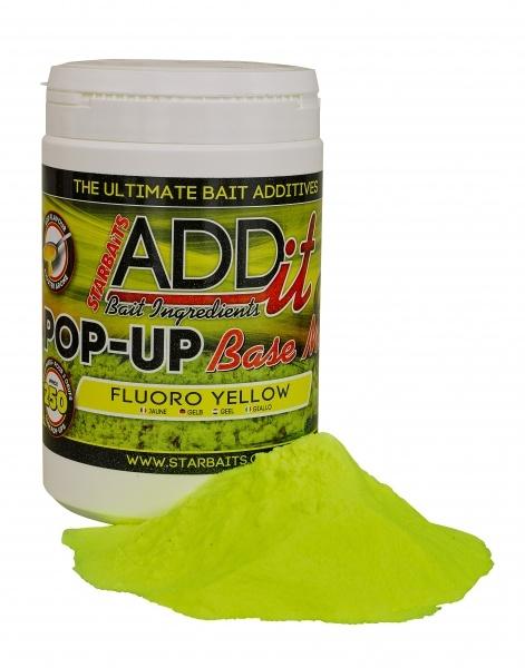 Boilies Mix-plovoucí Fluo žlutý 250g